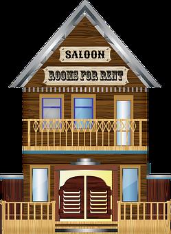 Western, Sheriff, Deputy, Western Buildings, Saloon
