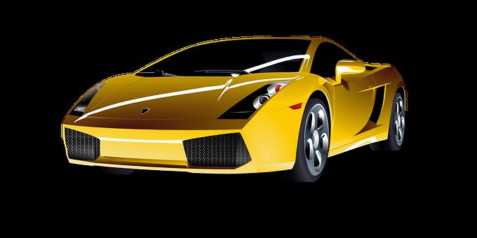 Car, Yellow, Sports, Vehicle, Lamborghini, Racing Car