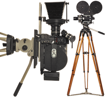 Movie Camera, Cinema, Movie, Film, The Film, Retro