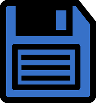 Save Icon, Icon, Floppy Disk, Diskette, Storage