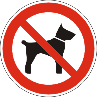 Dogs, Prohibited, Forbidden, Not Allowed, Sign, Symbol