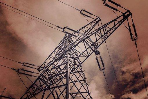Current, Electricity Pylon, Strommast