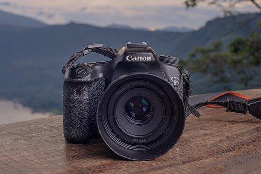 Camera, Canon, Lens, 70d, Eos, Digital, Photography