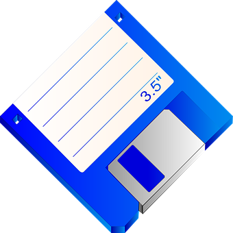 Floppy, Disk, Disc, Diskette, Label, Data, Media, Old