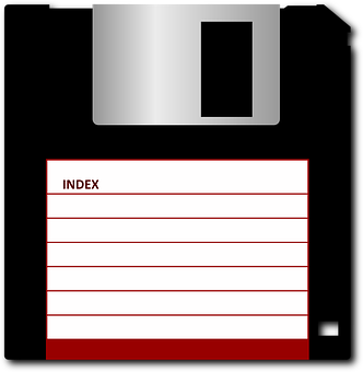 Disk, Floppy, Computer, 1 44 Inches