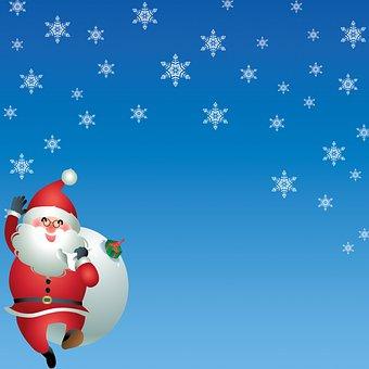 Christmas Background, Christmas, Bokeh, Snow, Glitter