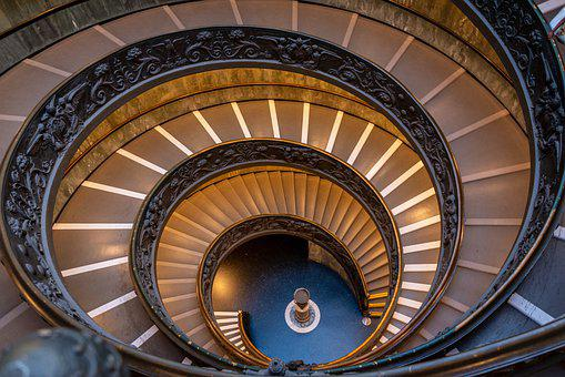 Rome, Vatican, Stairs, Italy, Pope, Architecture