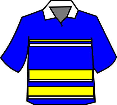 Clothing, Polo, T-shirt, Gaelic, Jersey, Blue, Yellow