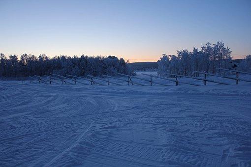 Snow, Finland, Lapland, Winter, Cold, Snowy, Landscape