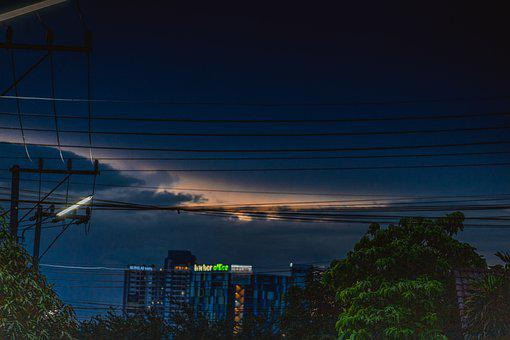 The Night, Light, Late Into The Night, Outdoor, City