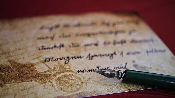 Sütterlin, Handwriting, Write, Vintage, Font, Letters