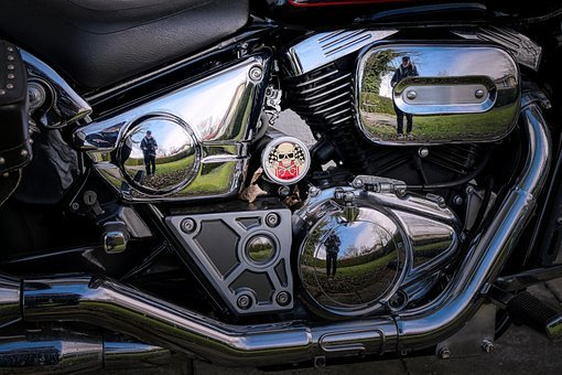 Technology, Motorcycle, Harley, Motor, Vehicle, Chrome