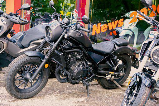 Motorcycle, Vehicle, Two Wheeled Vehicle, Transport