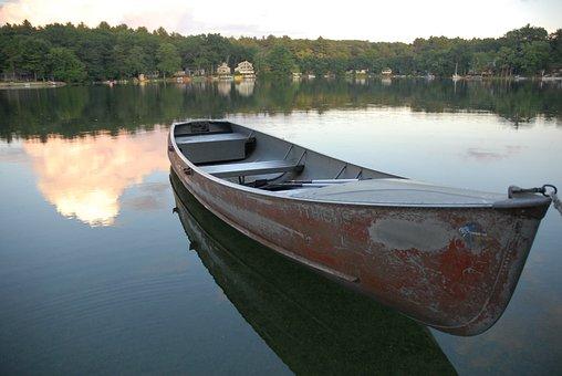 Lake Alexander, Lake, Summer, Boat, Artistic, Nature