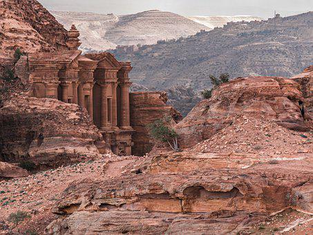 Petra, Jordan, The Monastery Ad Deir, World Heritage