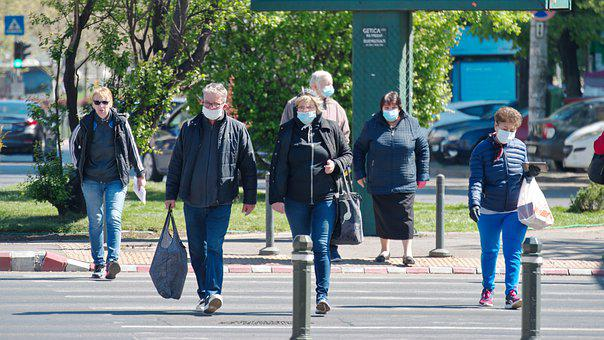 People, Wearing, The Masks, Protection, Virus-free