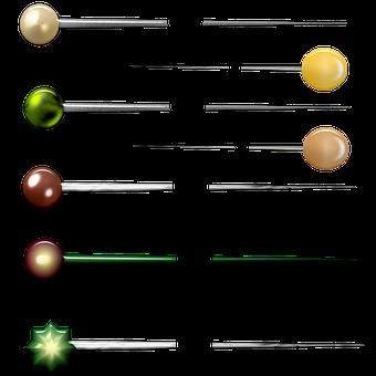 Scrapbook Stick Pin, Scrapbook, Vintage, Texture