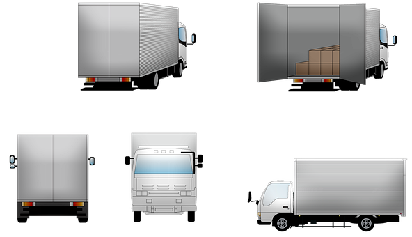 Truck, Delivery, Lorrie, Transportation