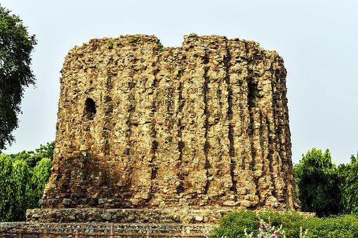 A Place Of Qutb Minar, Qutb Minar, Delhi