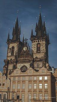 Prague, City, Castle, Architecture, Historically