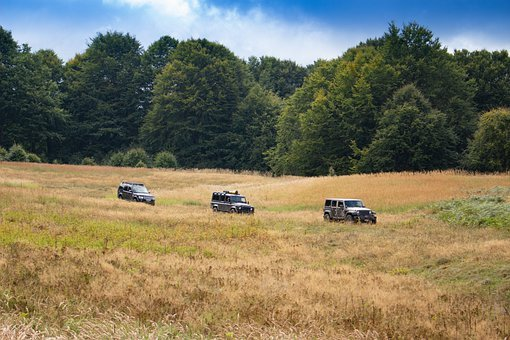 All Terrain Vehicle, Landrover, Jeep, Offroad, Auto