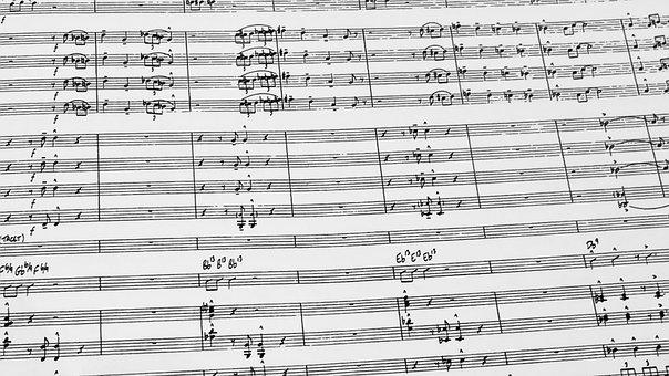 Music, Jazz, Score, Band, Chart