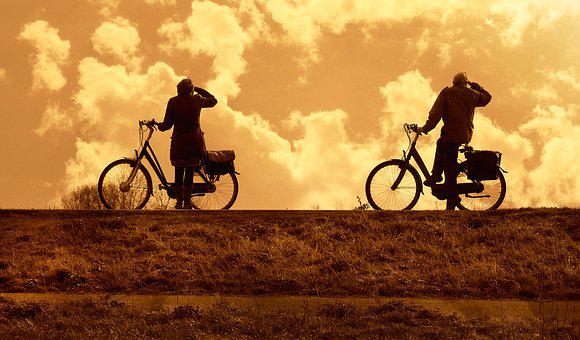 Cyclist, Bicycle, People, Exercise, Biking, Ride, Road