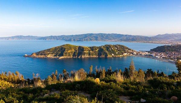 Ile, Skikda, Algeria, Holiday, Blue, Sea, Landscape