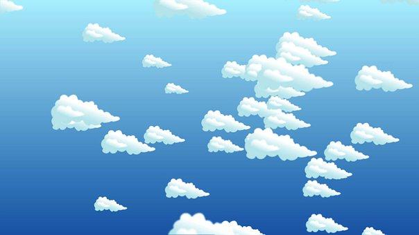Kids, Clouds, Sky, Children, Child, Kid, Outdoors