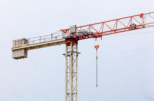 Tower, Crane, Construction, Building, Architecture
