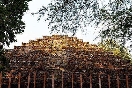 A Place Of Qutb Minar, Qutb Minar, Delhi, Monument