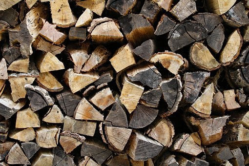 Firewood, Wood, Logs, Fireplace, Axe, Coal, Timber