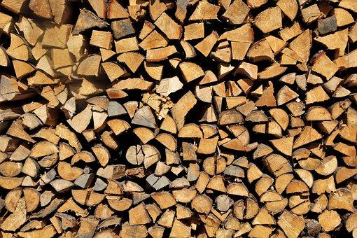 Wood, Firewood, Holzstapel, Campfire, Heat