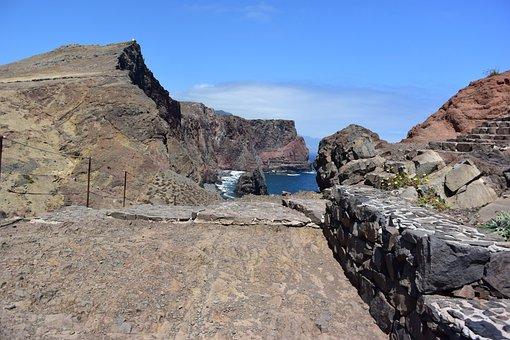 Madeira, Cove, Bay, Beach, Sea, Ocean, Landscape, Coast