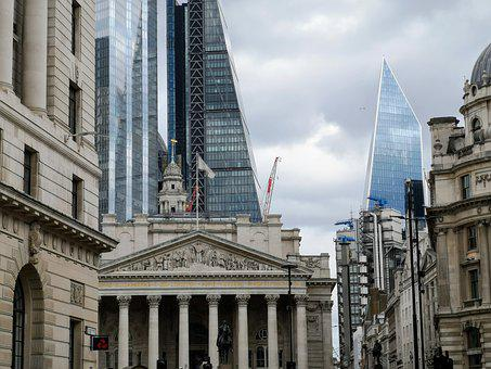 Architecture, Ancient, Modern, Old, New, Tower, Bank