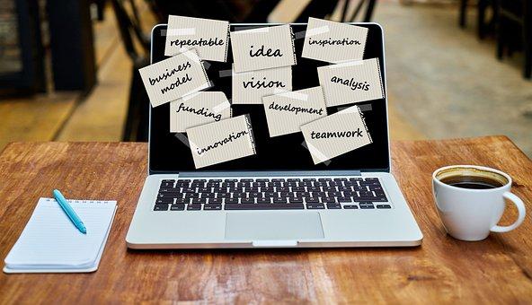 Laptop, Startup, Vision, Innovation, Office
