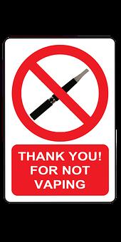 Vaping, No, Addiction, Smoking, Nicotine, Cigarette