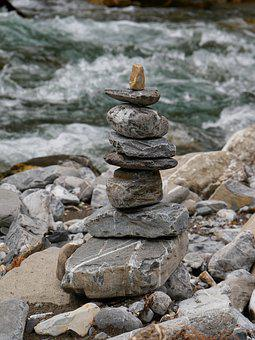 Stones, Tower, Stone Tower, Balance