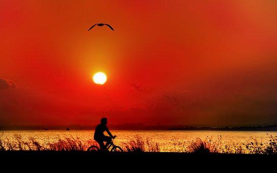 Landscape, Offer, Sunset, Sunlight