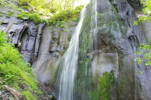 Waterfall, Nature, Water, River, Stream, Landscape