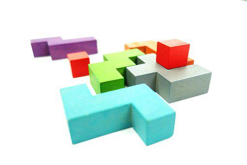 Blocks, Building Blocks, Wooden Building Blocks