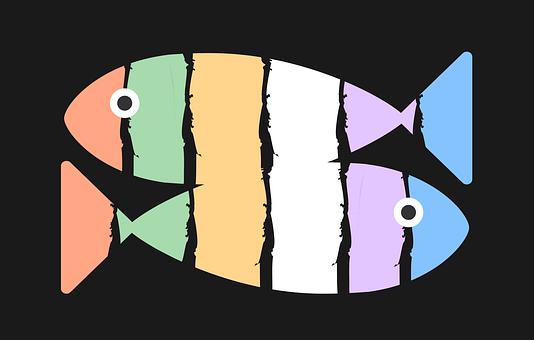 Fish, Sushi, Art, Restaurant, Symbol, Aquarium, Water