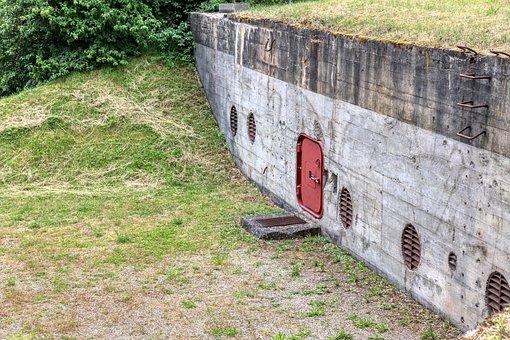 Bunker, War, Protection, World War, Architecture