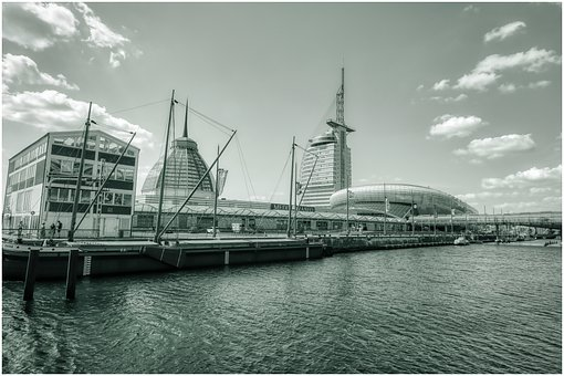 Port, Water, Tower, Pier, Architecture