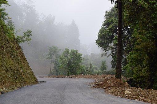 Cloud, Street, Mountain, Road, Asphalt, Landscape