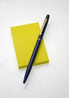 Pen, Note, Office, Document, Writing, Paper, Business