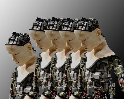 Cyber, Robot, Hacker, Technology, Futuristic, Cyborg