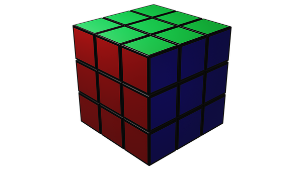 Rubik's Cube, Puzzle, Game, Cube, Toy, Think, Mind