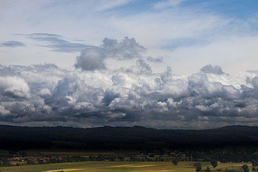 Clouds, Weather, Horizon, Atmosphere, Nature, Dramatic