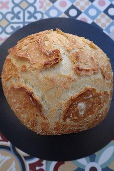 Bread, Loaf, Food, Crispy, Fresh, Flour, Nutrition